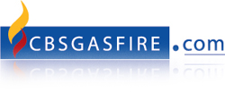 CBS Gas Fire Place Logo